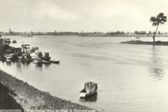 005 RIVIER -- (018) Samenvloeiing Maas en Waal in Bovenmerwede