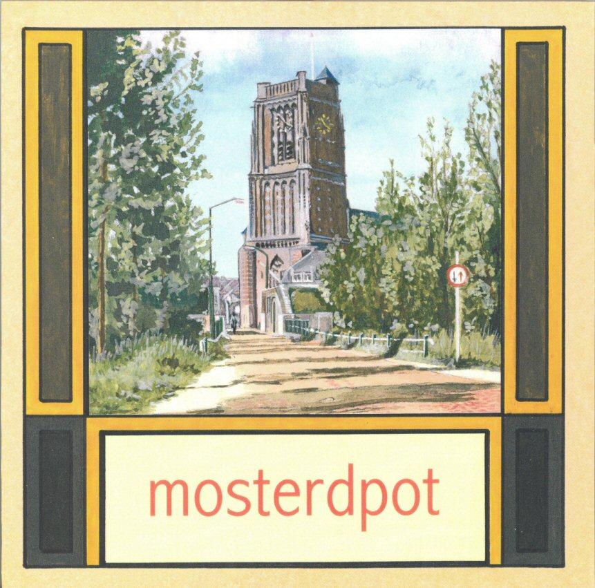 TEGE-006 Mosterdpot