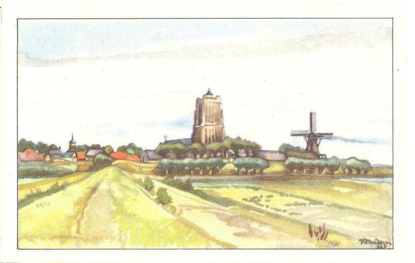 ALBU-002 Woudrichem tegenover Gorinchem a No37