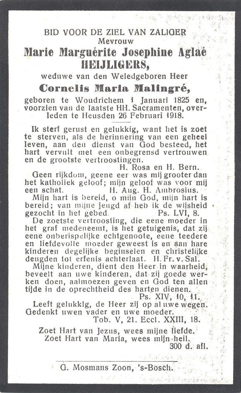 BIDP-007b 1825-Marie Marguerite Josephine Aglae Heijligers