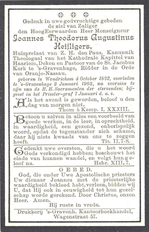 BIDP-009b 1832-Joannes Theodorus Augustinus Heijligers