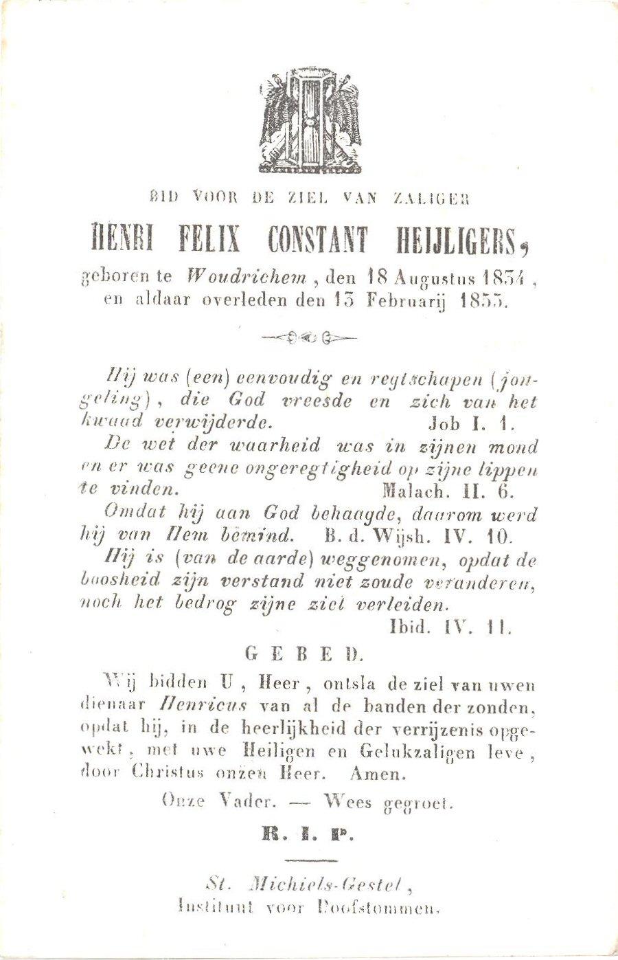 BIDP-018b 1834-Henri Felix Constant Heijligers