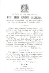 BIDP-018b Henri Felix Constant Heijligers
