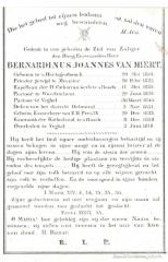 BIDP-019b 1801-Bernardinus Joannes van Miert