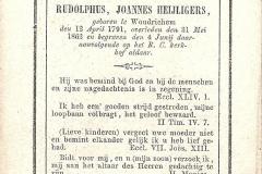 BIDP-003b Rudolphus Johannes Heijligers