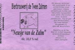 ETIK-010 Bierbrouwerij de Twee Zalmen Neusje van de Zalm