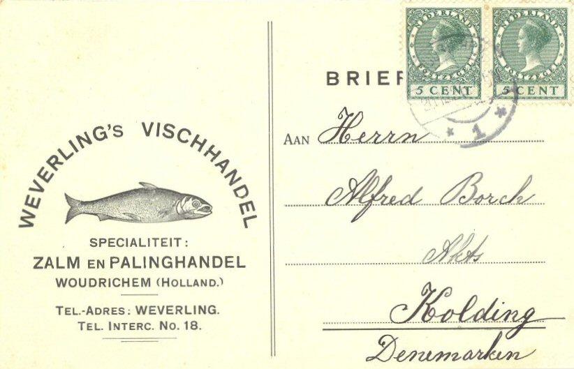 BRIE-005 Weverling's Vischhandel