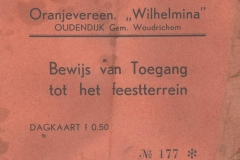 ENTR-001 Oranjevereen Wilhelmina
