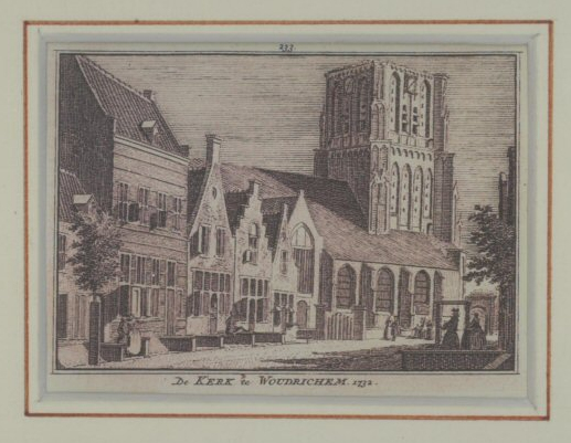 Gravure 08 Kerk Woudrichem