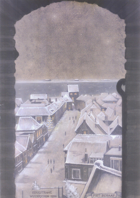 KAAR-058 Kerkstraat Woudrichem 1956