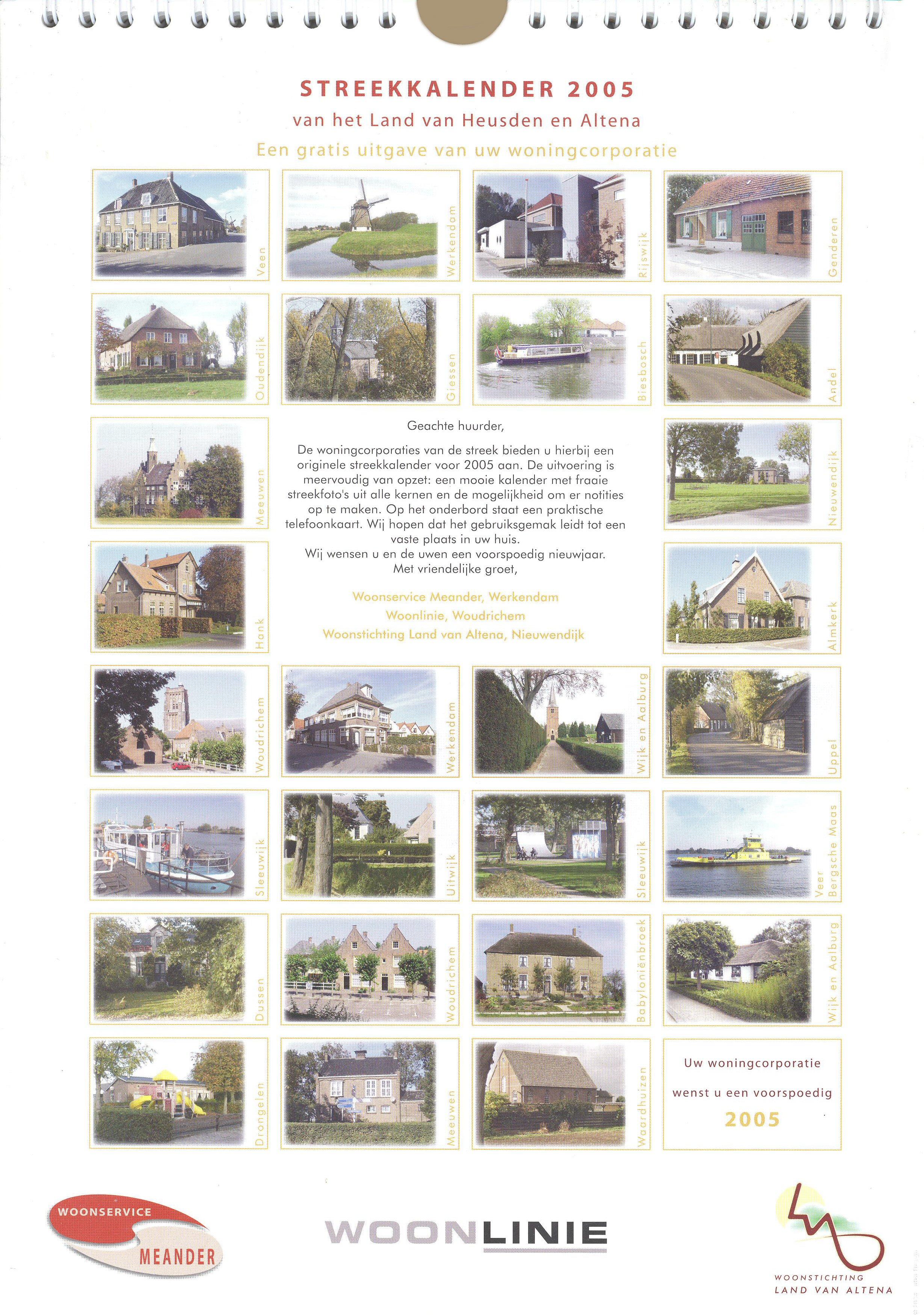 Kalender 004a Streekkalender 2005