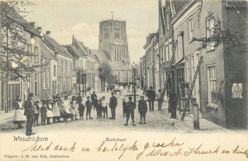 STRAAT -- Kerkstraat (008)