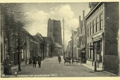 STRAAT -- Kerkstraat (014) met gerestaureede Toren