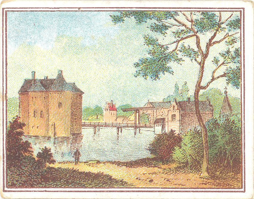 ALBU-003a-Het-Slot-Loevestein-in-1620