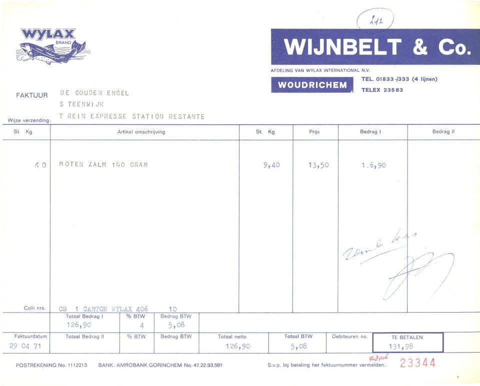 006 REKE-009 Wylax 1971