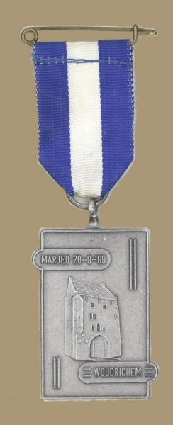 Medaille WOU - 001 Marjeu 20-9-69