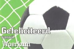 010 WOERKUM - gefeliciteerd vanuit