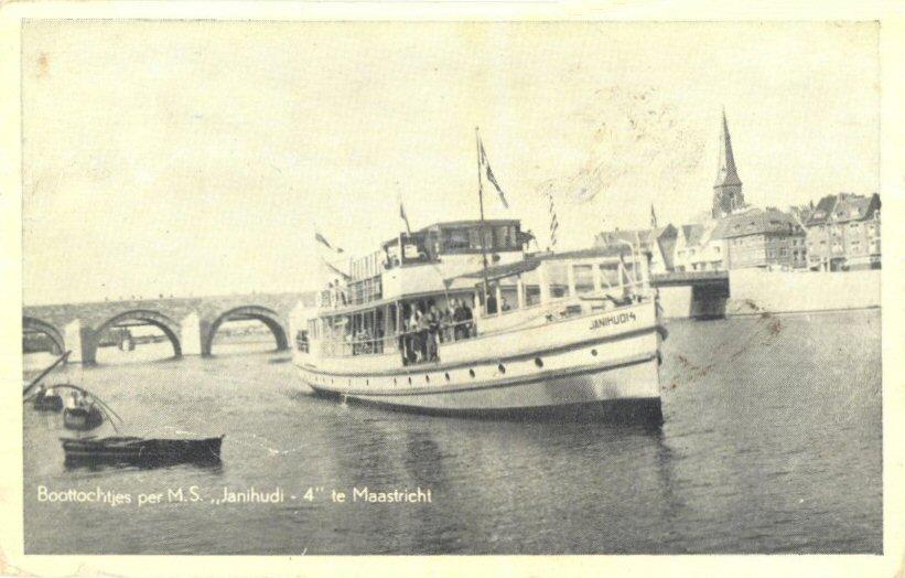 E.O. (007) Boottochtjes per M.S. Janihudi 4 te Maastricht