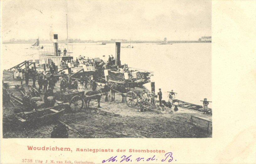 011 RIVIER -- (024) Aanlegplaats der Stoombooten