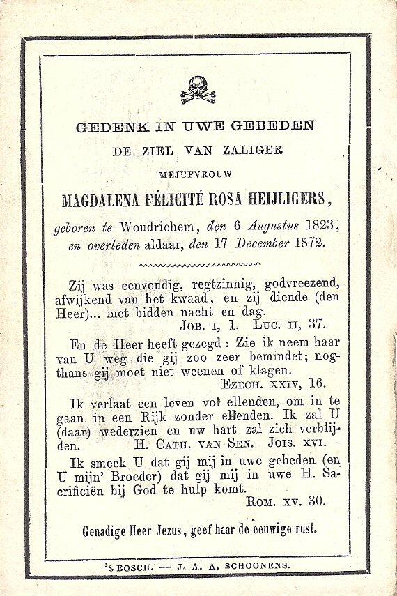 BIDP-004b 1823-Magelena Felicite Rosa Heijligers