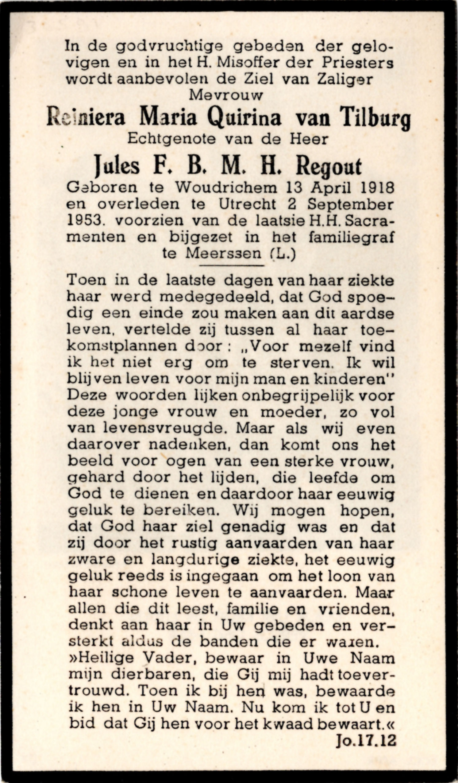 BIDP-026b 1918-Reiniera Maria Quirina van Tilburg