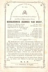 BIDP-016b 1801-Bernardinus Joannes van Miert