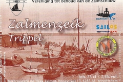 ETIK-013 Bierbrouwerij de Twee Zalmen Zalmenzeik Trippel