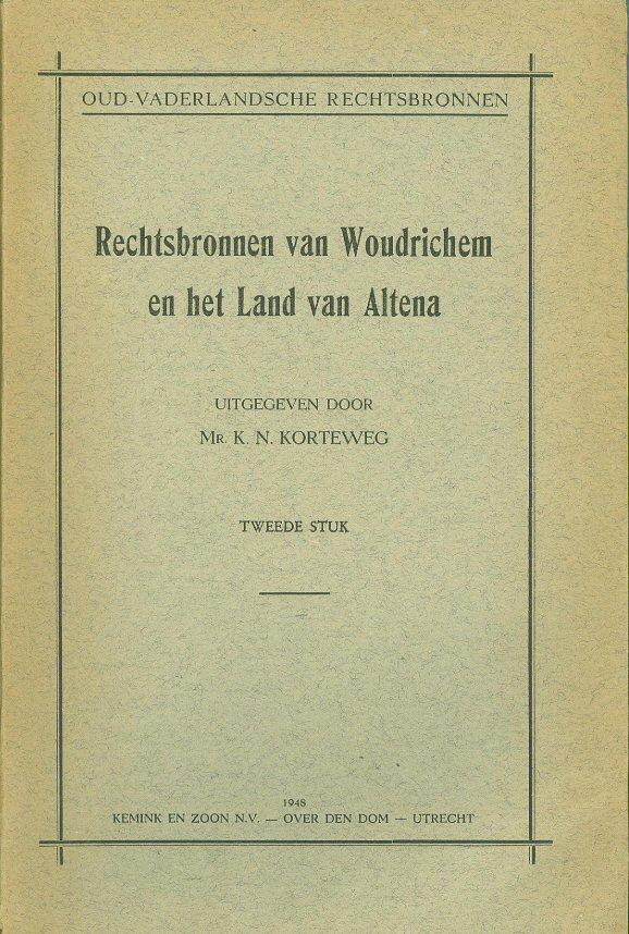 015 b Rechtsbronnen van Woudrichem en het Land van Altena 2