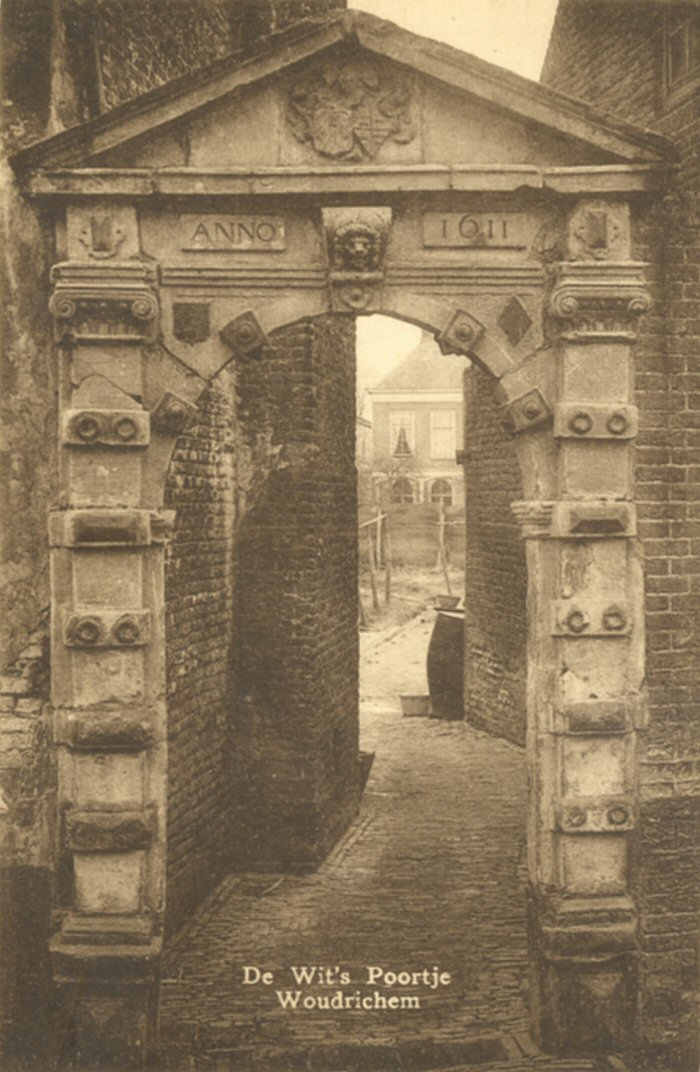 040 MONUMENT -- (W) (003) De Wits poortje