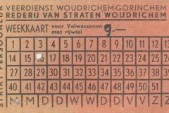 Veerdienst Janihudi - weekkaart