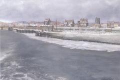 KAAR-063 Woudrichem bij winter