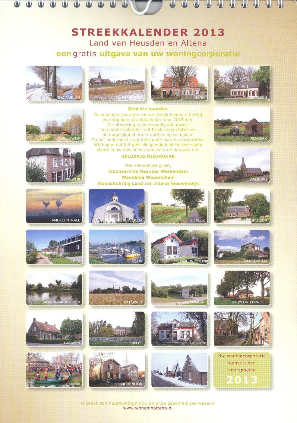 Kalender 003a - streekkalender 2013