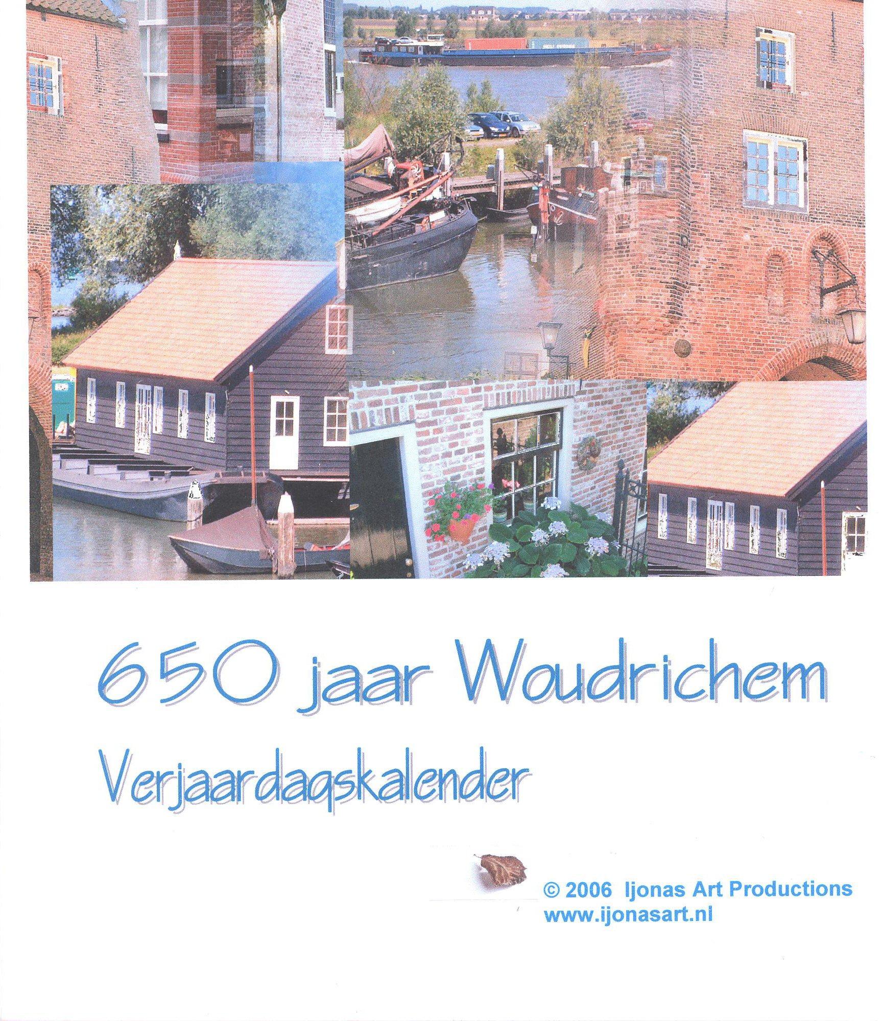 Verjaardagkalender 003b - 650 jaar Woudrichem