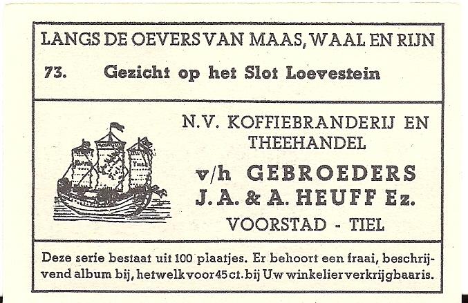 ALBU-002-Albumplaatje-Gezicht-op-het-Slot-Loevestein-no-73-b