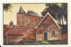 ALBU-002-Albumplaatje-Gezicht-op-het-Slot-Loevestein-no-73-a