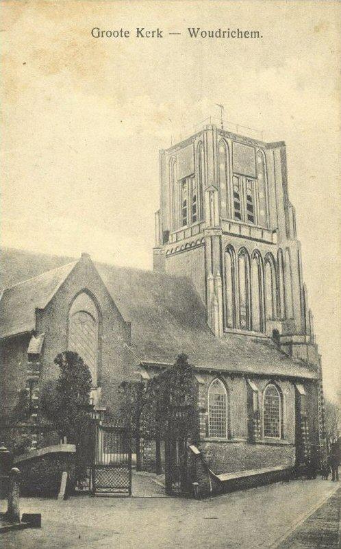 002 KERK -- (008) Groote-kerk Woudrichem