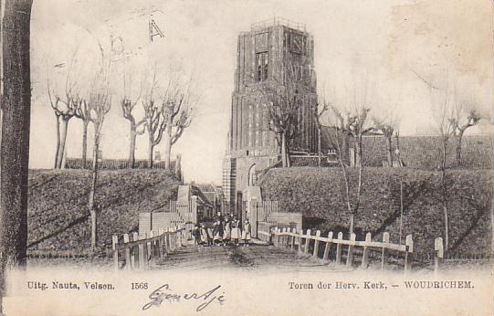 021 KERK -- (014) Toren der Herv.Kerk