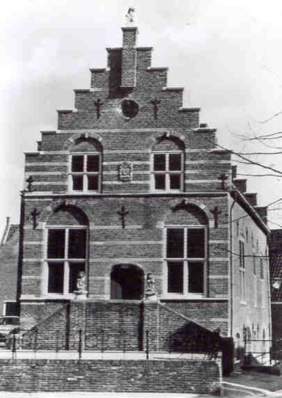 03 MONUMENT -- (R) (008) Oude Raadhuis 1592