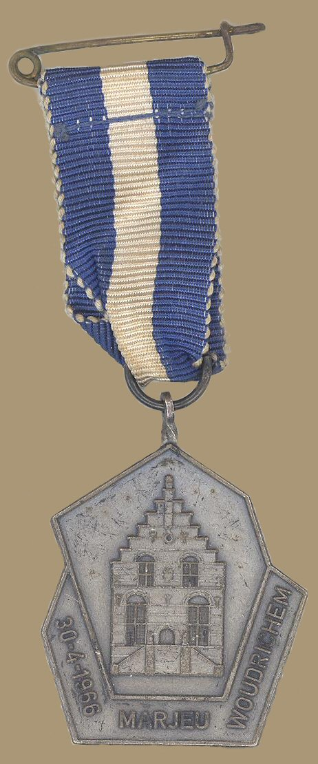 Medaille WOU - 003 Marjeu 30-4-66