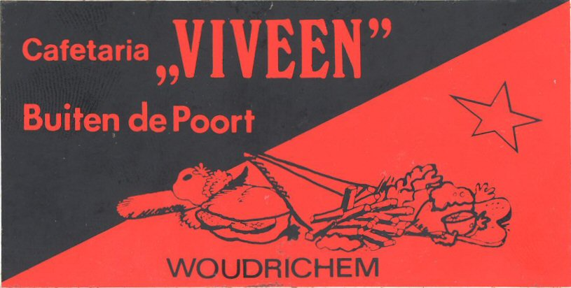 11 STICK-012 Cafetaria Viveen