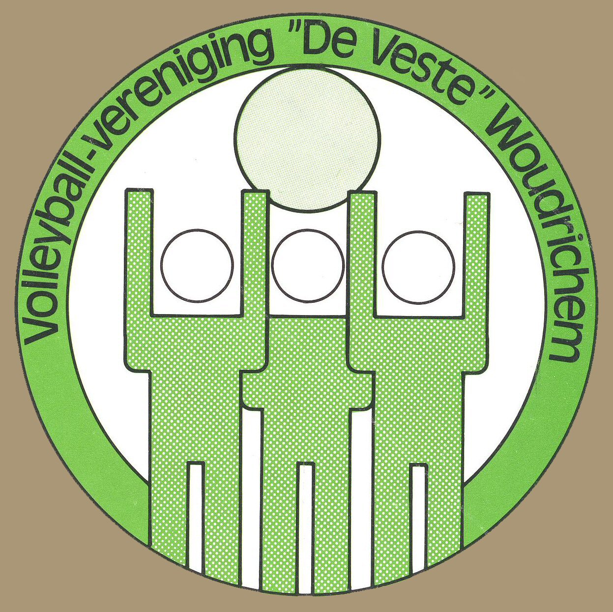 STICK-021 Volleyball-vereniging De Veste