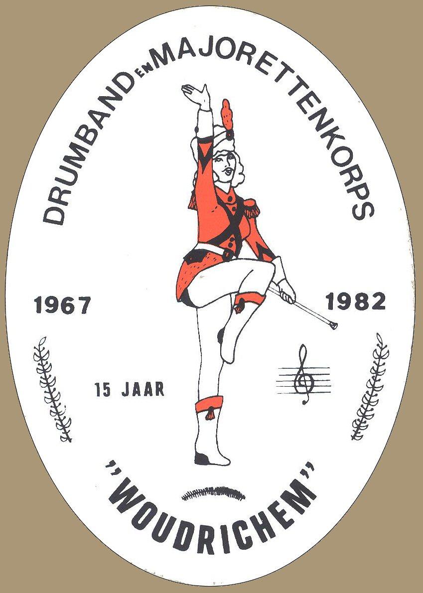 STICK-022 Drumband Majorettenkorps Woudrichem