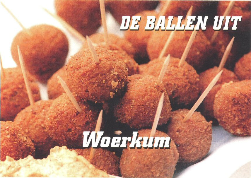 018 WOERKUM - de ballen uit